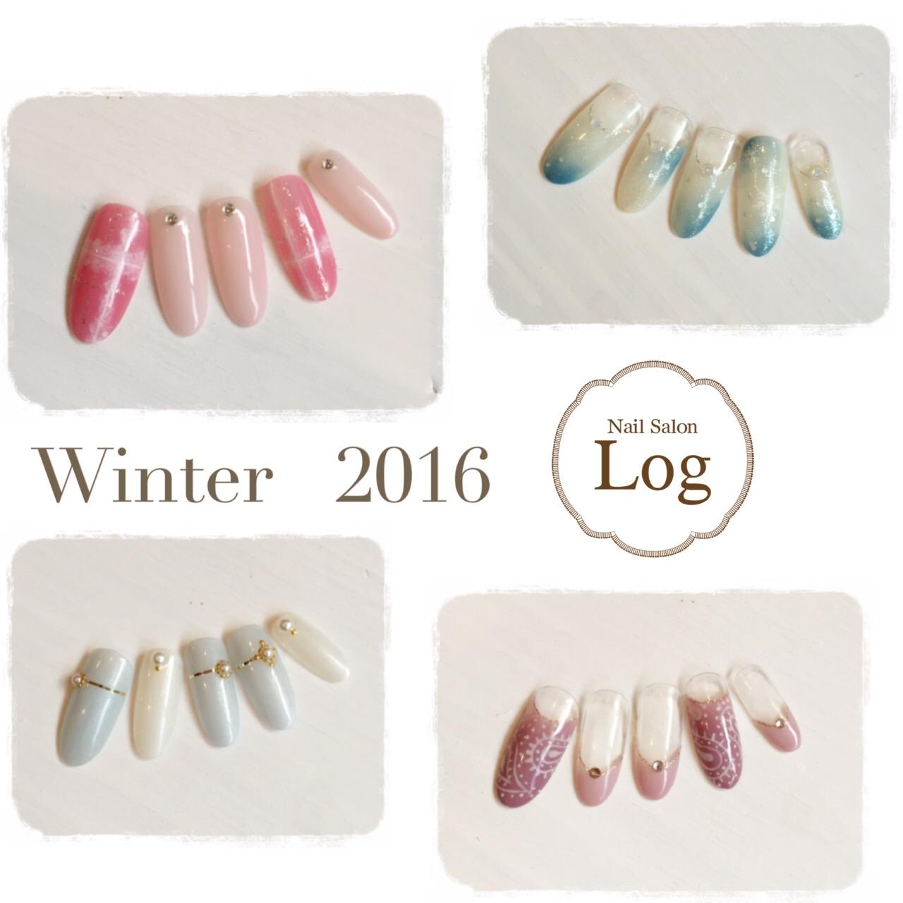 冬ネイルデザイン2016
