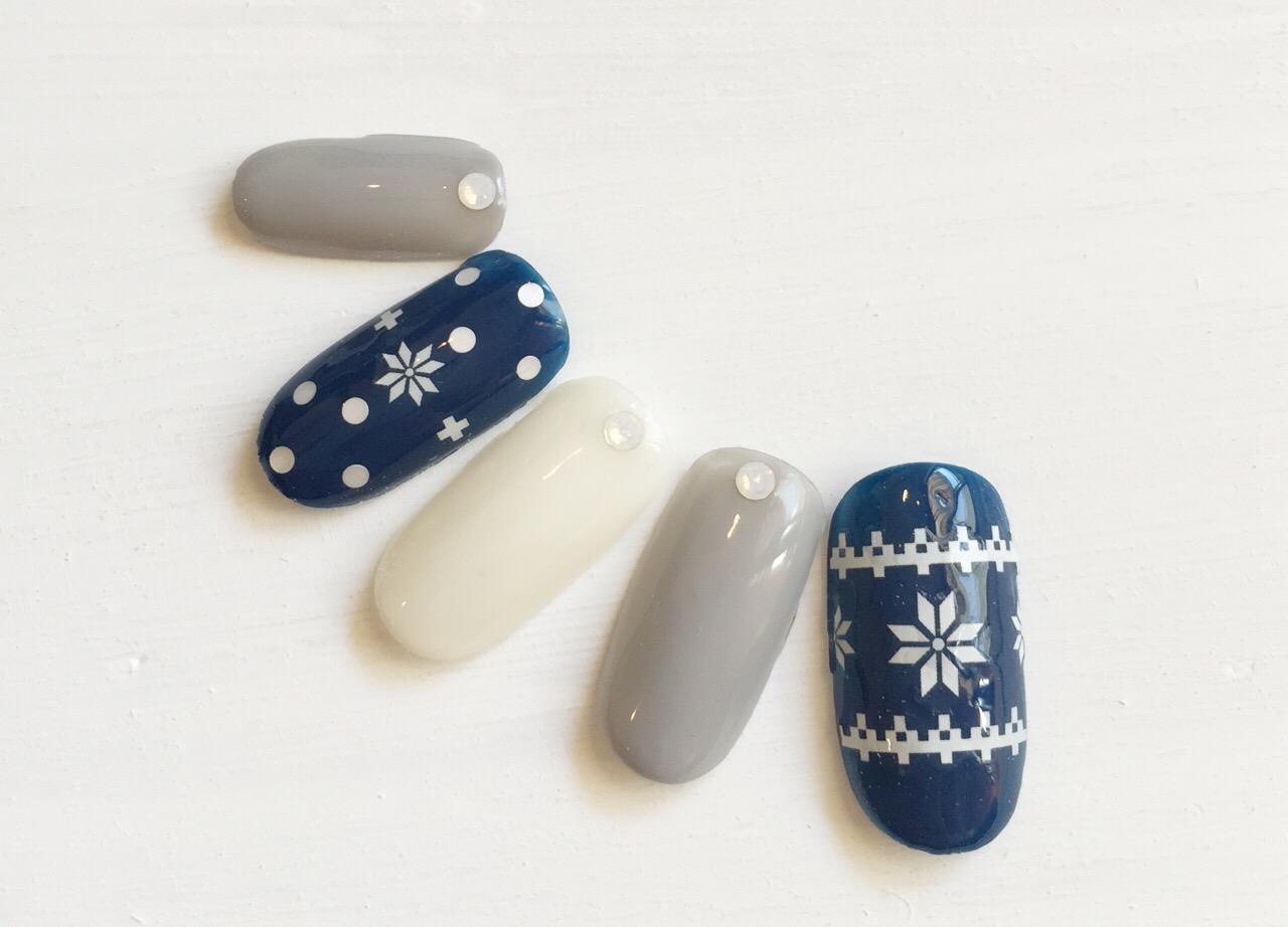 冬ネイルデザイン2015 ①