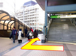 East Exit of Ebisu Station